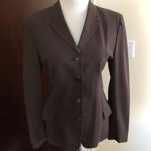 Burberry  woman's jacket of chocolate grey color